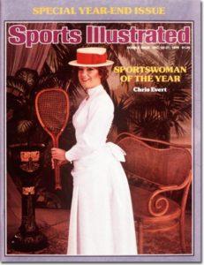 Chris Evert Tennis: Sportswoman of the Year December 20-27, 1976 X 20985 credit: Graham Finlayson - assign
