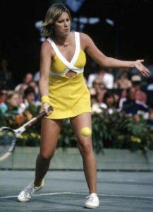 Tennis Chris Evert